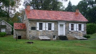 Home of Conrad Weiser image. Click for full size.