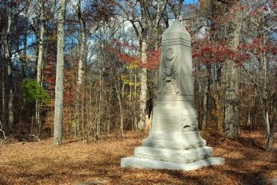 29th Indiana Infantry Marker image. Click for full size.
