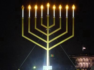 The National Chanukah Menorah image. Click for full size.