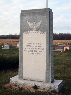Veterans Monument Marker image. Click for full size.