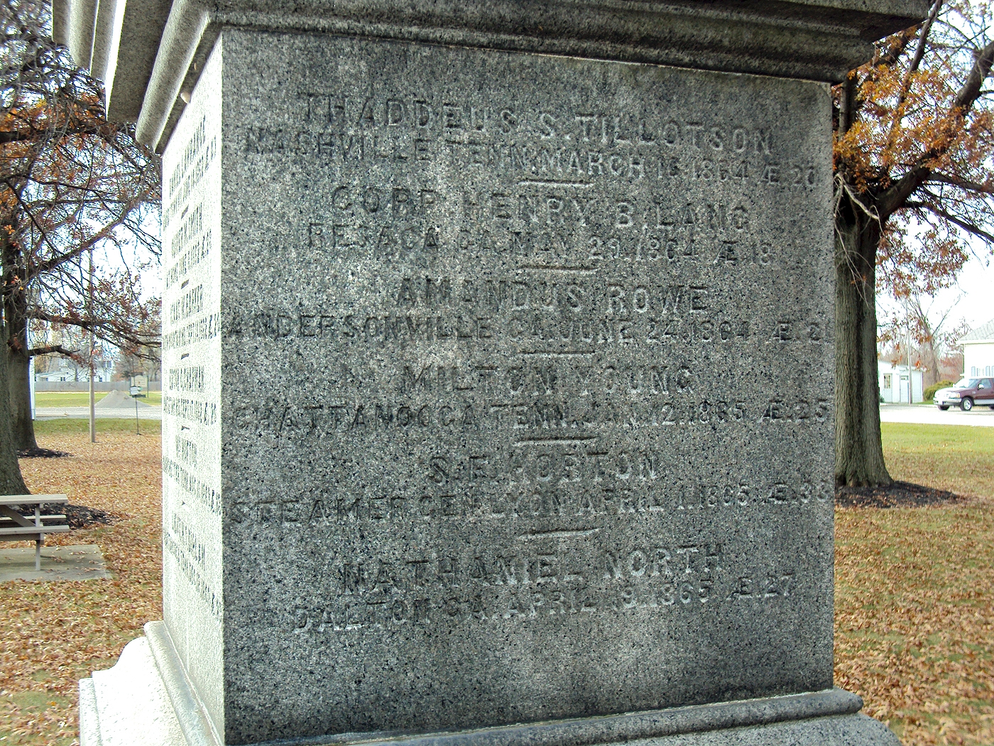 Huntington Civil War Memorial