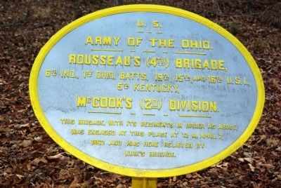 Rousseau's Brigade Marker image. Click for full size.