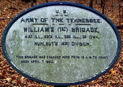 Williams' Brigade Marker image. Click for full size.
