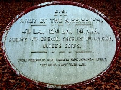 Gibson's Brigade Marker image. Click for full size.