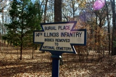 14th Illinois Infantry Marker image. Click for full size.