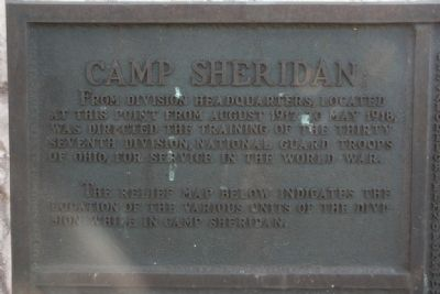(Side A, Frame 1) Camp Sheridan image. Click for full size.