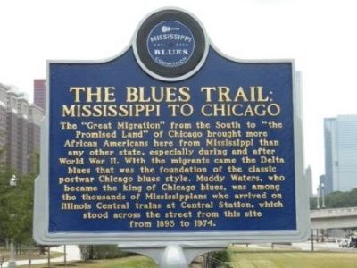 The Blues Trail Marker image. Click for full size.