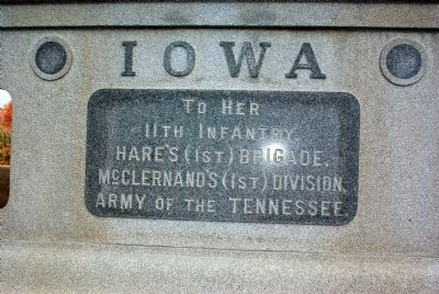 11th Iowa Infantry Marker image. Click for full size.