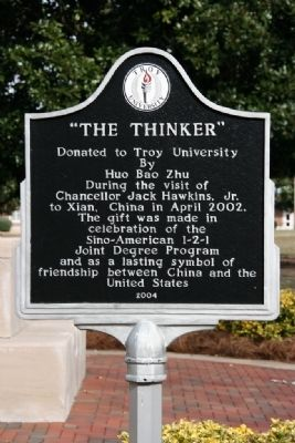 """The Thinker"" Marker image. Click for full size."