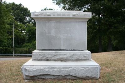 Missouri U.S.A. Troops Monument image. Click for full size.