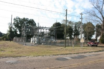 Goshen Substation and Marker image. Click for full size.