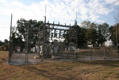 Closer View Of The Goshen Substation image. Click for full size.