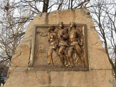 Edgewater World War I Monument image. Click for full size.