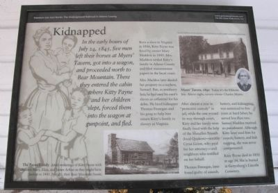 """Kidnapped"" Wayside Exhibit Marker image. Click for full size."