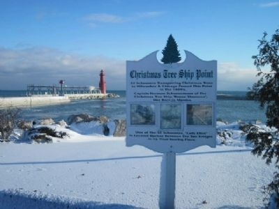 Christmas Tree Ship Point Marker image. Click for full size.