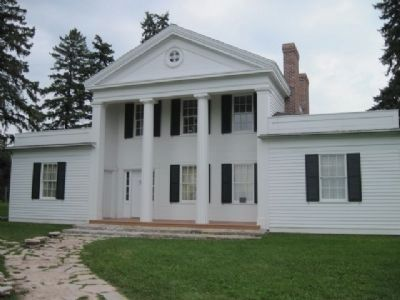 Cotton House. Built in the 1840's image. Click for full size.