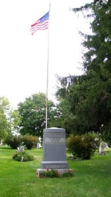 Darien Civil War Memorial image. Click for full size.