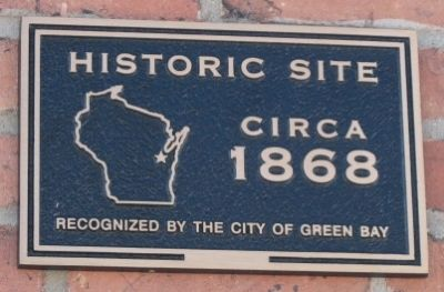 Historic Site Plaque image. Click for full size.