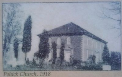 Pohick Church, 1918 image. Click for full size.