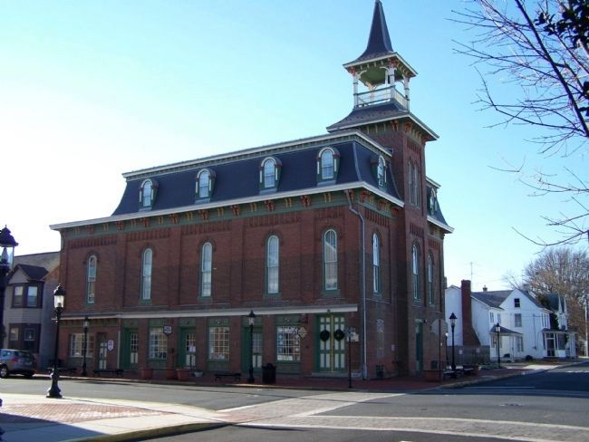 Smyrna Opera House and Old Town Hall image. Click for full size.