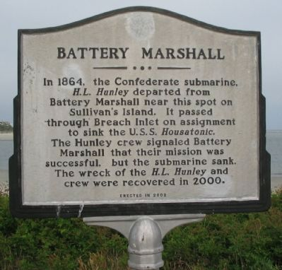 Battery Marshall Side image. Click for full size.