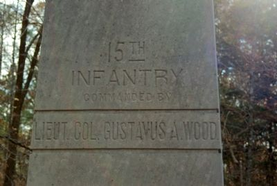 15th Indiana Infantry Marker image. Click for full size.