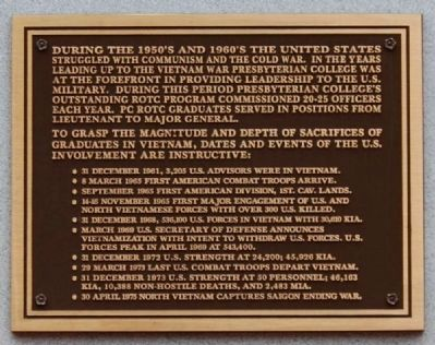 Vietnam Marker - Upper Plaque image. Click for full size.