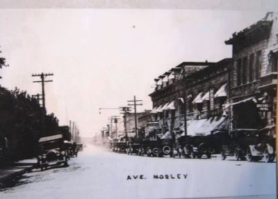 View north of Morley Avenue and Montezuma Hotel, image. Click for full size.