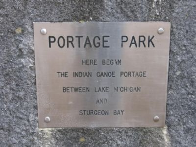 Portage Park Marker image. Click for full size.