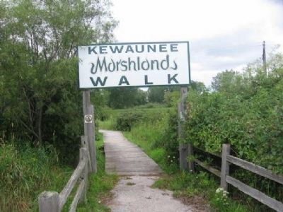 Nearby Kewaunee Marshlands Walk image. Click for full size.
