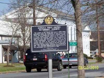 Eufala First United Methodist Church Marker image. Click for full size.