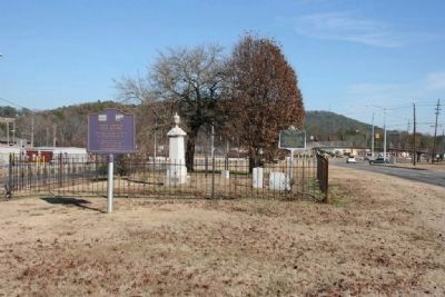 Sansom Family Cemetery. image. Click for full size.