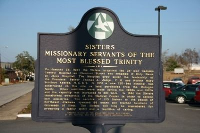 Sisters Missionary Servants Of The Most Blessed Trinity Marker image. Click for full size.