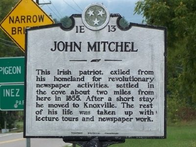 John Mitchel Marker image. Click for full size.