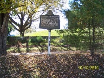Oneida Baptist Institute Marker image. Click for full size.