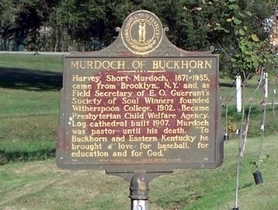 Murdoch of Buckhorn Marker image. Click for full size.
