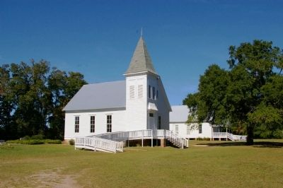 Marvin Methodist Church and New Hope Baptist Church image. Click for full size.