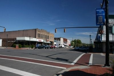Downtown Attalla, Alabama image. Click for full size.