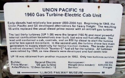 Union Pacific 18 Marker image. Click for full size.