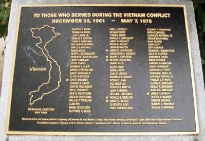 East Cocalico Township Vietnam War Memorial image. Click for full size.
