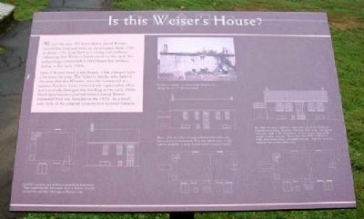 Is this Weiser's House? Marker image. Click for full size.
