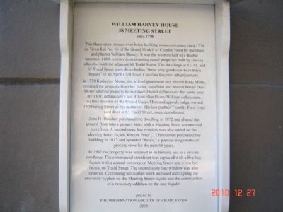 William Harvey House Marker image. Click for full size.