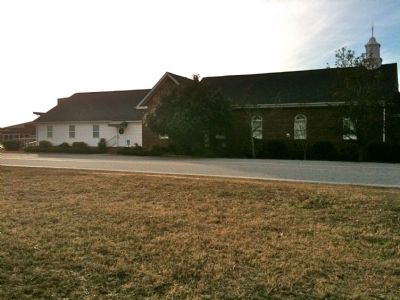 Townville Presbyterian Church and Rear Addition image. Click for full size.