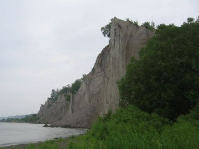 Scarborough Bluffs Marker image. Click for full size.