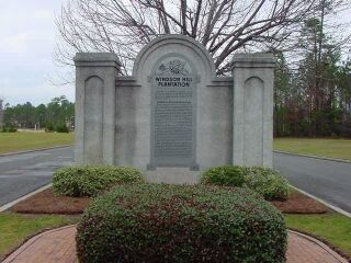 Windsor Hill Plantation Marker image. Click for full size.