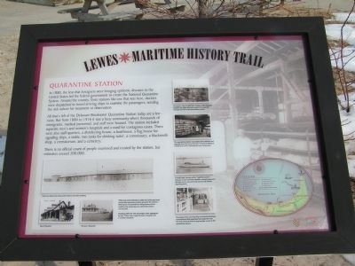 Quarantine Station Marker image. Click for full size.