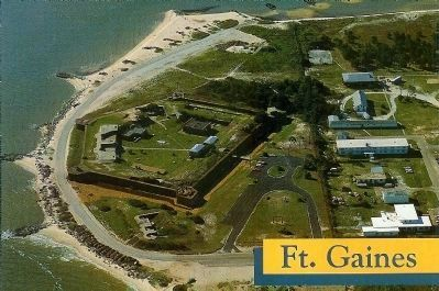 Fort Gaines image. Click for full size.