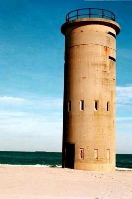 one-time Coastal Defense Watch Tower along Delaware Coast, near Indian River image. Click for full size.