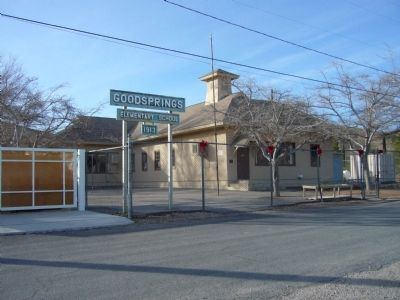 Goodsprings School (today) image. Click for full size.