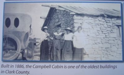Photo of Campbell Cabin on Marker image. Click for full size.